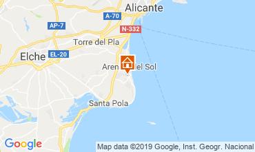 Map Santa Pola House 117899