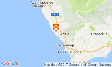 Map Adeje Apartment 15419