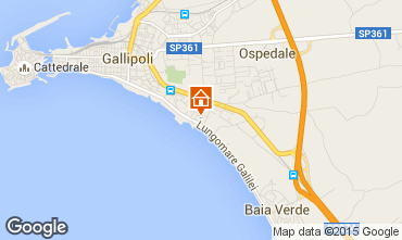 Map Gallipoli Apartment 85068