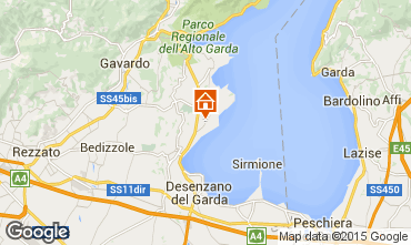 Map Manerba del Garda Apartment 64654