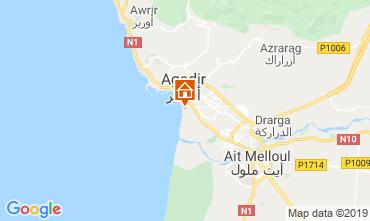Map Agadir Apartment 76325
