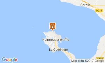 Map Noirmoutier en l'Île House 111693