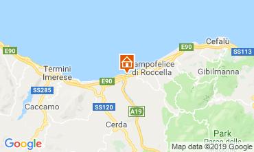 Map Campofelice di Roccella Apartment 76925