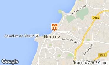 Map Biarritz Studio apartment 50968