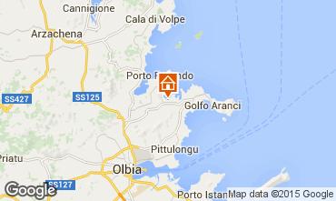 Map Porto Rotondo Studio apartment 62654
