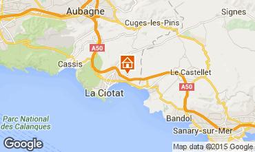 Map La Ciotat Self-catering property 99880