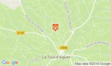 Map La Tour d'Aigues Villa 115511