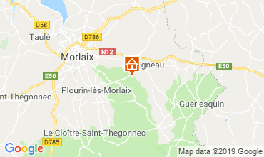 Map Morlaix Self-catering property 118940