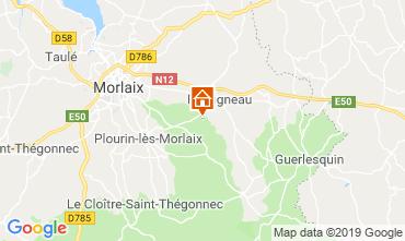 Map Morlaix Self-catering property 118940