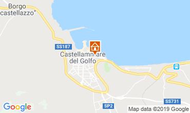 Map Castellammare del Golfo Apartment 104710