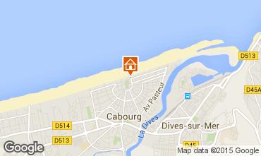 Map Cabourg Villa 82116