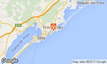 Map Frontignan Villa 78184