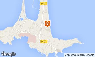 Map Giens Studio apartment 78307