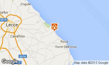 Map San Foca Villa 78071