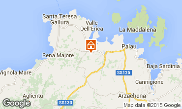 Map Santa Teresa di Gallura Apartment 31639