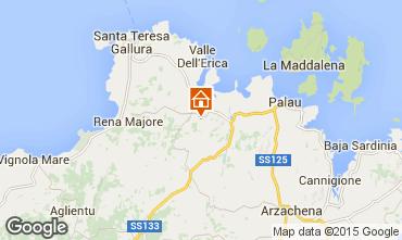 Map Santa Teresa di Gallura Apartment 31639