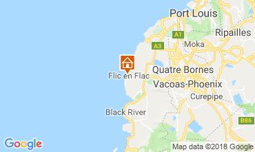 Map Flic-en-Flac Villa 11562