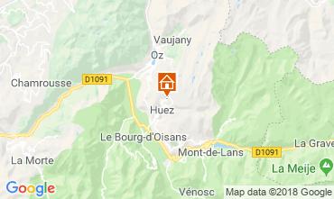 Map Alpe d'Huez Apartment 116707