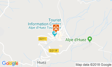 Map Alpe d'Huez Apartment 116707