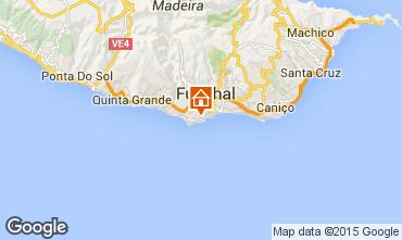Map Funchal Studio apartment 78026