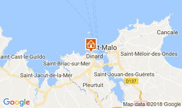 Map Dinard Villa 108827
