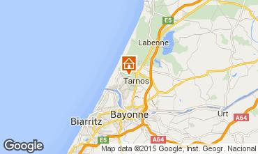Map Biarritz Villa 17168