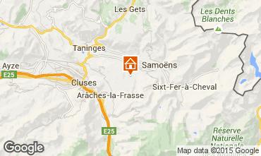 Map Morillon Grand Massif Apartment 28743