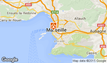 Map Marseille Apartment 93064