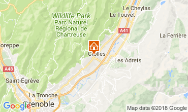 Map Grenoble House 115405