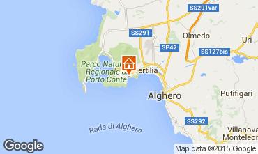 Map Alghero Apartment 78315
