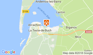 Map Arcachon Mobile home 115628