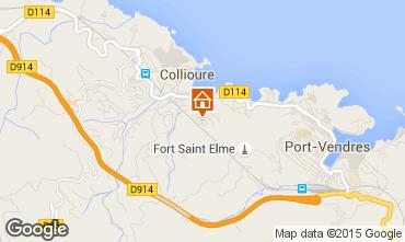 Map Collioure Flat 15880