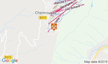 Map Chamrousse Apartment 30487