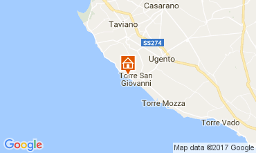 Map Gallipoli Apartment 60657