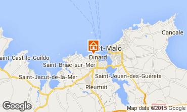 Map Dinard Apartment 91642