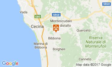 Map Casale Marittimo Apartment 110856