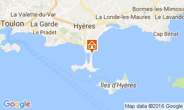 Map Hyères Villa 106297