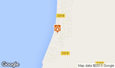Map Pyla sur Mer Villa 75061