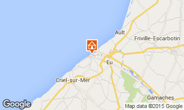Map Le Tréport Apartment 94504