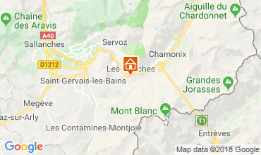 Map Les Houches Studio apartment 49738