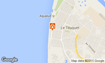 Map Le Touquet Apartment 26417