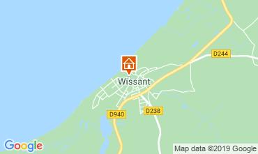 Map Wissant Apartment 41805