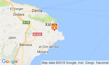 Map Jávea Villa 112816