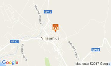 Map Villasimius Apartment 110509