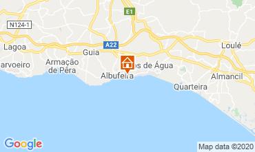Map Albufeira Apartment 117895