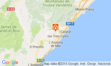 Map La Ametlla de Mar Villa 107484