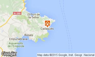 Map Cadaqués House 40984