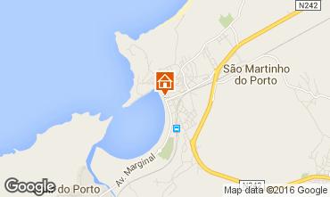 Map São Martinho do Porto Apartment 102487