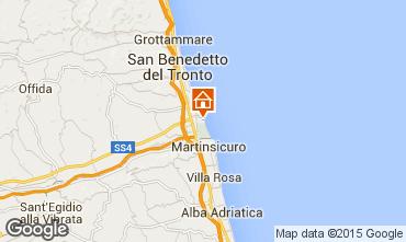 Map San Benedetto del Tronto Apartment 85875