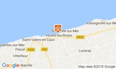 Map Veules-les-Roses Villa 115186